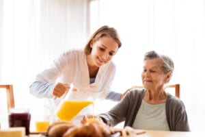 Home Care in Westerville OH: How to Improve Your Parent's Nutrition